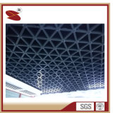Levering voor doorverkoop van het Net van het Plafond van de Laag van het Poeder van de Leverancier van China de weel-Vuurvaste Aluminium Opgeschorte