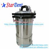 Esterilização portátil do Sterilizer do aço inoxidável do fogão de pressão dental com Faucet 18L