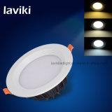 Teto Recessed Downlight do diodo emissor de luz para a sala de visitas, escritório com 3-12W