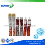 Kosmetik-verpackenhaar-Farben-Sahne-leeres zusammenklappbares Aluminiumgefäß