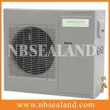Unidade de condensação de refrigeração ar para o sistema refrigerando