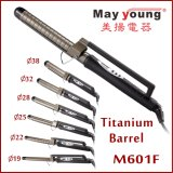 Preço de fábrica X Style Clamp Hair Styler Cabelo de titânio Curler