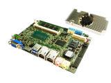 Carte mère d'Intel Haswell pour la carte mère duelle de Mini-Pcie Ethernet industriel avec le panneau 2*USB3.0 (HU803)