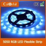 Alta tira flexible del brillo SMD5050 DC12V LED de la larga vida