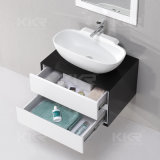 Lavabo solide de Module de salle de bains de longueur de la surface 1200mm