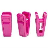 도매 다채로운 플라스틱 옷 걸이 클립 (HC55-1)