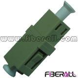 Adaptador óptico de la fibra a una cara del LC milímetro con huella corta