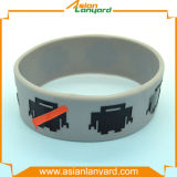 Wristband superiore del silicone con il marchio