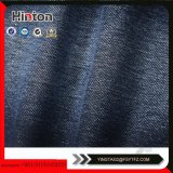 Indigo Cotton Spandex French Terry Knitted Denim Fabric pour jeans