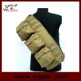 O ombro tático camuflar de Airsoft da engrenagem militar vai saco do bloco