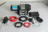 Treuil UTV Winch électrique avec corde à fil d'acier (4500LB)