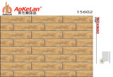 azulejos de suelo de cerámica esmaltados de madera del material de construcción de la inyección de tinta de 150X600m m (15602)