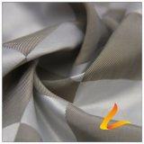agua de 50d 280t y de la ropa de deportes tela tejida chaqueta al aire libre Viento-Resistente 100% del filamento del poliester del telar jacquar de la armadura abajo (53166)