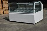 Congelador italiano do Showcase do Popsicle dos Freezers/do indicador do gelado de Gelato (CE)