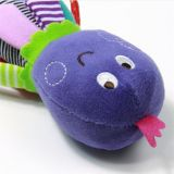 Cartoon éducatif Animal Rattle Squeak Soft Baby Octopus Toy