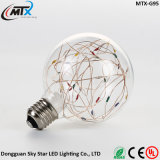 a corda do firefly ilumina da lâmpada ao ar livre da corda de Dimmable luz estrelado da corda do globo do diodo emissor de luz a mini