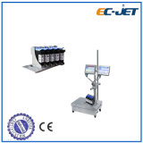 低価格のバーコードおよび満期日の印刷の連続的なインクジェット・プリンタ(ECH700)