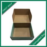 Caixa rígida de envio impressa costume da caixa do cartão