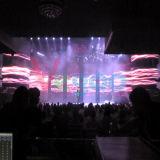 Pantalla de visualización de alta resolución de interior de LED del vídeo del alquiler P4.81