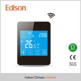 Thermostats de contact d'affichage à cristaux liquides avec le distant de WiFi pour l'IOS/téléphone cellulaire androïde