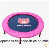 Mini trampolino di forma fisica rotonda calda di vendita 2017 dell'interno per l'adulto
