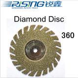 Зубоврачебный диск диаманта 360