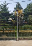 3 réverbère solaire extérieur du jardin DEL de la garantie 5W-12W d'an avec le détecteur