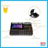 Qrコードスキャンナーおよび58mm Bluetoothの熱プリンター(ZKC701)が付いている情報処理機能をもったPOSターミナル