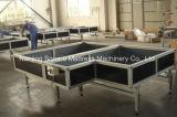 Manufatura da máquina do colchão para o colchão que Sewing a tabela da flutuação de Paneumatic