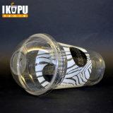 Пластичные чашки с крышкой купола