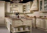 Europäischer Entwurfs-hölzerner Küche-Schrank-Entwurf von der chinesischen Fabrik