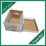 Коробка архивохранилища Corrugated картона для тяжелого хранения