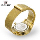 Belbi Geschäfts-einfache grosse Vorwahlknopf-Entwurfs-Mann-China-Uhr-Marke