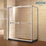 Quarto de chuveiro material de aço de duas portas deslizantes (BL-F3005)
