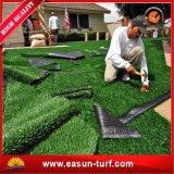 튼튼한 연약한 반대로 UV 합성 잔디 뗏장