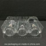 Het duidelijke Dienblad van de Blaar voor de Plastic Verpakking van de Kaars