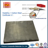 Hastelloy C276の鋼鉄爆発溶接の覆われた版
