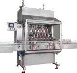 La máquina de rellenar linear conserva la maquinaria de etiquetado de la máquina del lacre