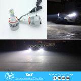 La viruta más caliente de 4000lm H4 H13 H15 9004 9007 Philip con la linterna auto ajustable de la luz LED del coche de la luz de niebla del ángulo de haz