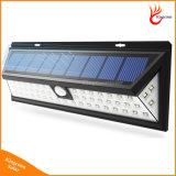 800 lámpara solar del sensor de movimiento del lumen 54 LED