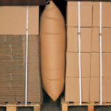 Cargamento usado pista del envase del bolso de aire del balastro de madera