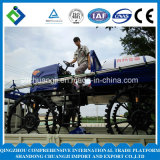 農業機械のトラクターブームのスプレーヤー