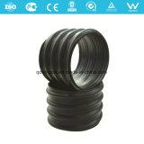 Stahlstreifen verstärktes HDPE Spirale-gewölbtes Rohr