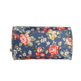 Waterproof Canvas Floral Patterns Grande Capacidade Boston Bag (99210)