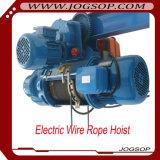 CD simple de vitesse 1 élévateur électrique de câble métallique avec le distant sans fil