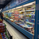 Cer-Bescheinigung-gute Qualitätsgeöffneter Handelsabkühlung-Schaukasten