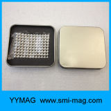 Néo- puzzle réglé magnétique de cube en billes 5mm Rubic de qualité à vendre