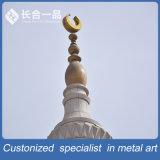 Parte superiore Rod del metallo del rame di fabbricazione della fabbrica della moschea per i musulmani
