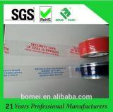 Diseño de empaquetado transparente de la impresión de la oferta de la cinta de BOPP para el cartón del lacre