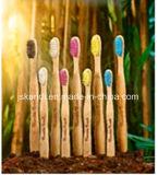 Hölzerne Bambusgriff-Zahnbürsten